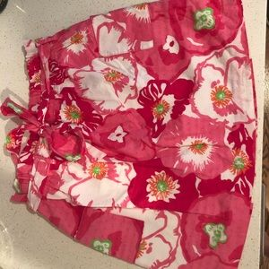 Lilly Pulitzer elastic waist skirt with pockets